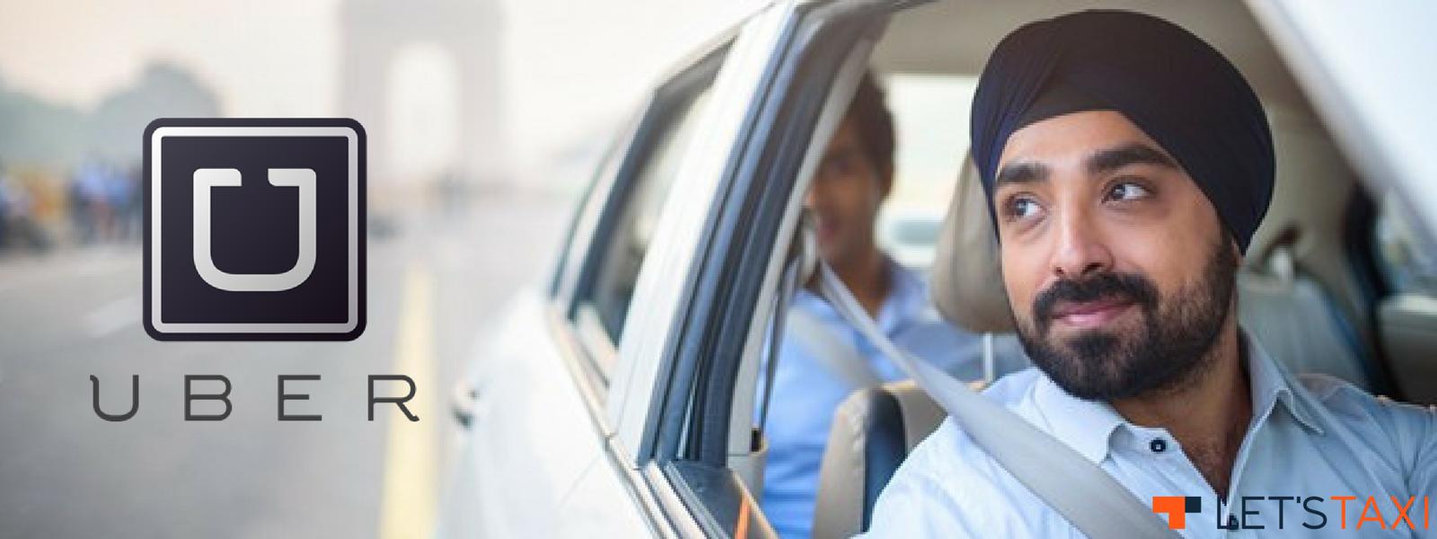 такси Uber в Индии