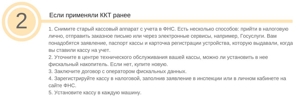 установка онлайн ККТ