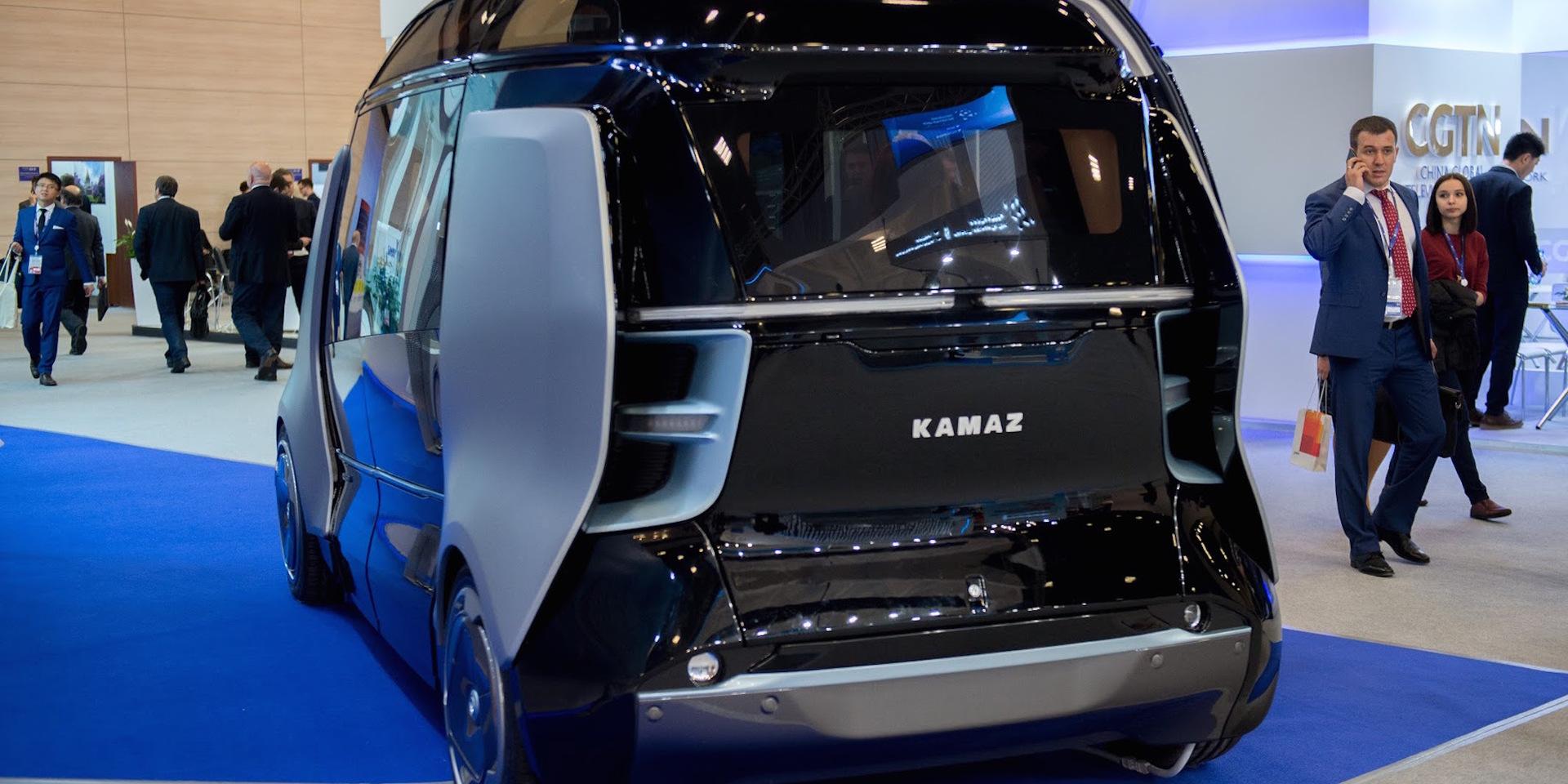беспилотный автомобиль камаз