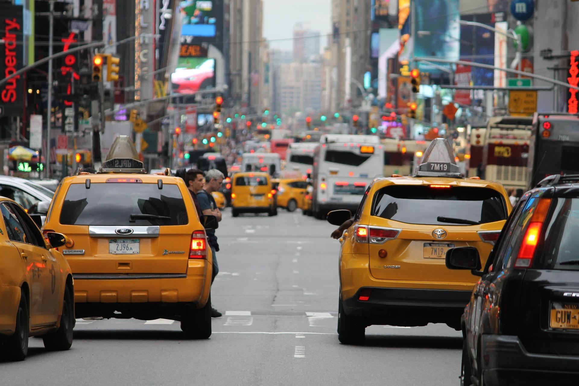 такси в городе