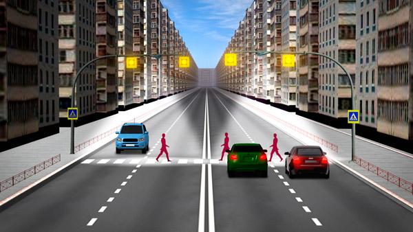 датчики движения на пешеходных переходах