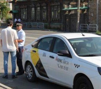 Массовые проверки такси в Подмосковье