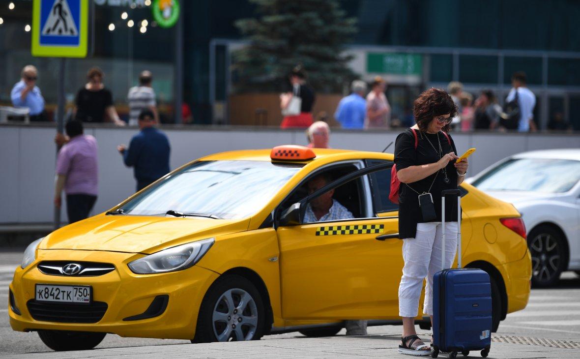 парковка такси во дворах