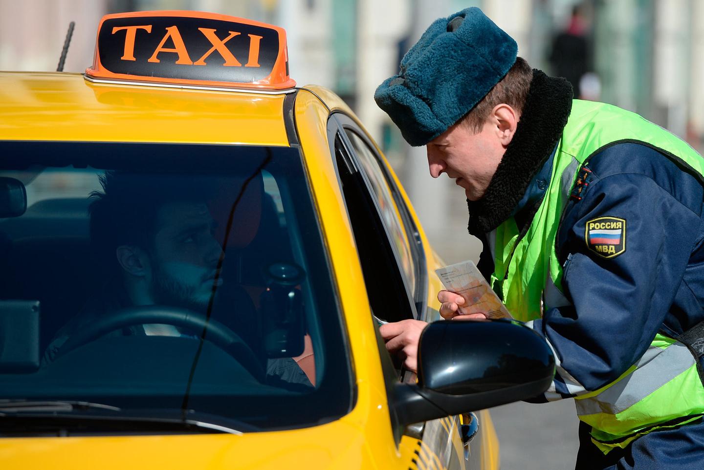 иностранные права в такси