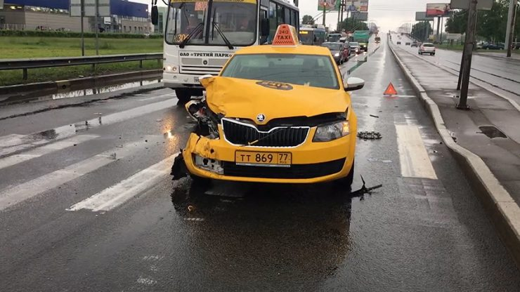 аварии и дтп в такси