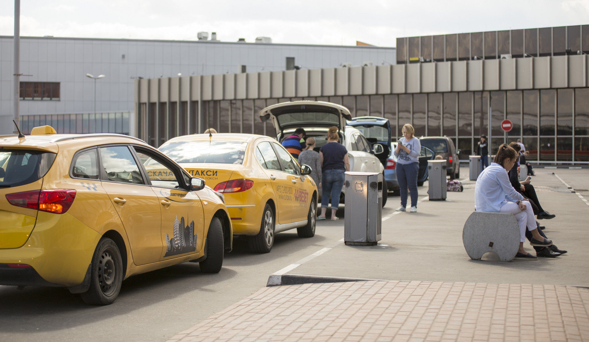 Поездка на такси за 500 000 рублей